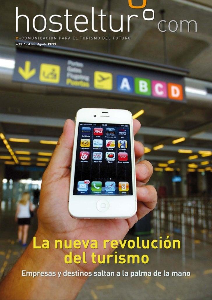 Hosteltur 207, La nueva revolucion del turismo, empresas y destinos saltan a la palma de la mano