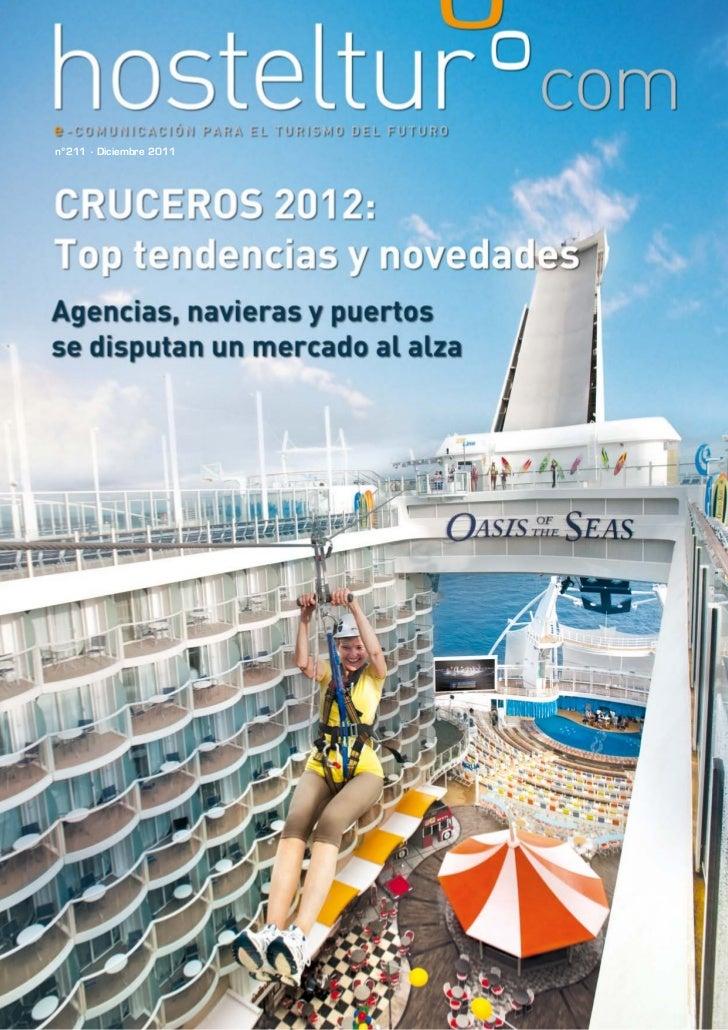 Hosteltur 211 - Cruceros 2012, Top tendencias y novedades