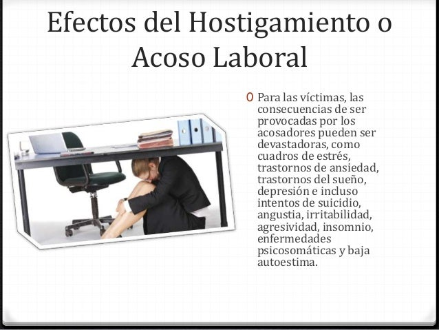 hostigamiento sexual laboral