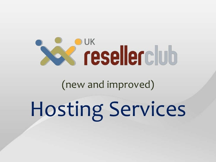 Hosting at UK.ResellerClub