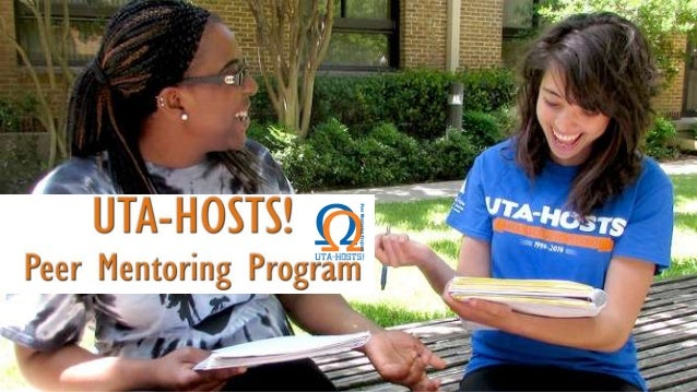 Welcome to the UTA-HOSTS! online mentor training!