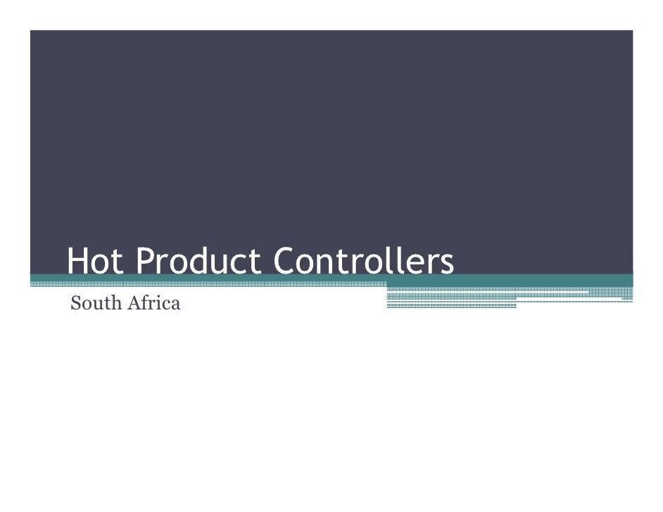 Hot products-seminar-presentation-matthew-dyball