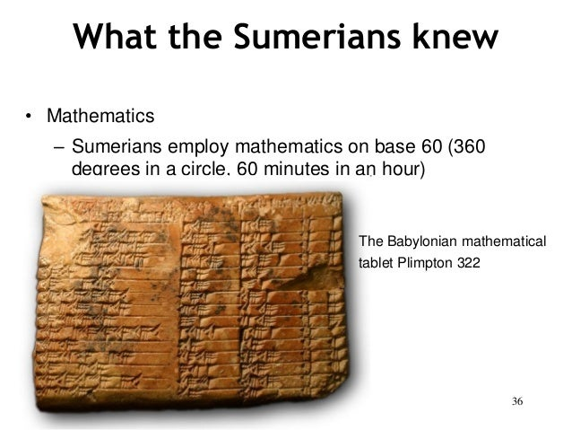 sumerian math images reverse search