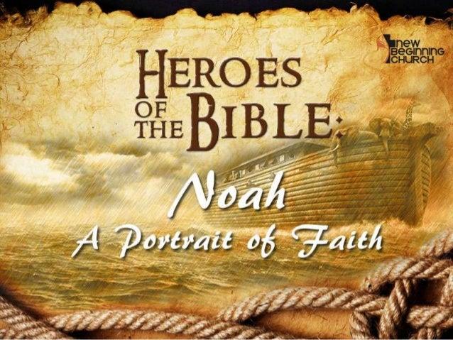 Heroes of the Bible Part 01 Noah - english