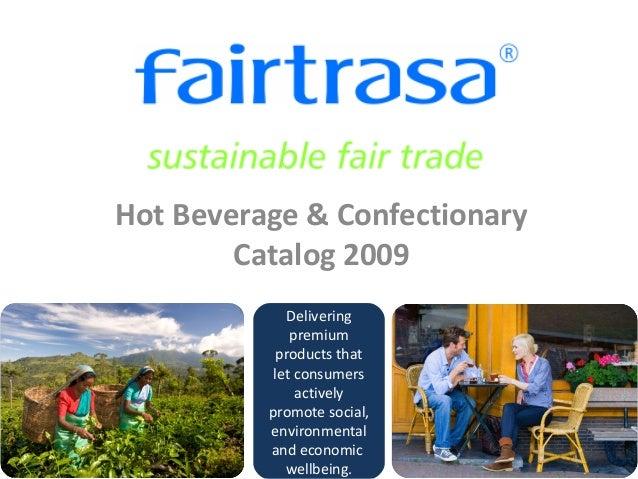 Fairtrasa Hot Beverage & Confectionary Cataolg