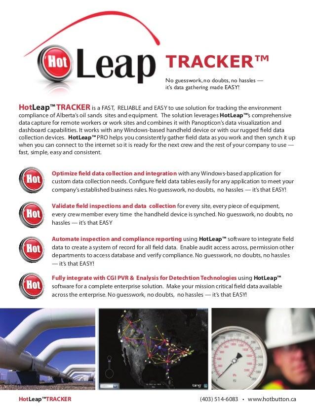 HotButton Solutions : HotLeap Tracker Brochure v1.9