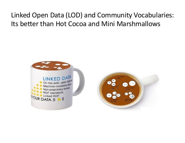 Linked Open Data and Community Vocabularies:  Its Better than Hot Cocoa and Mini Marshmallows!
