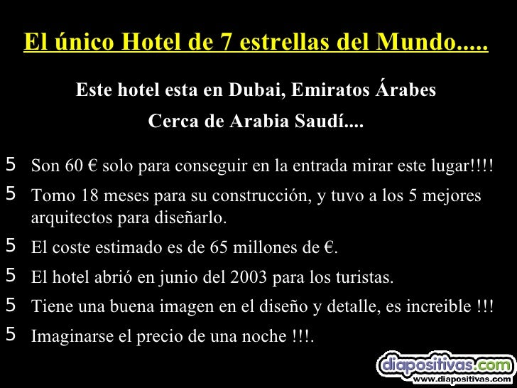 Hotel 7 Estrellas