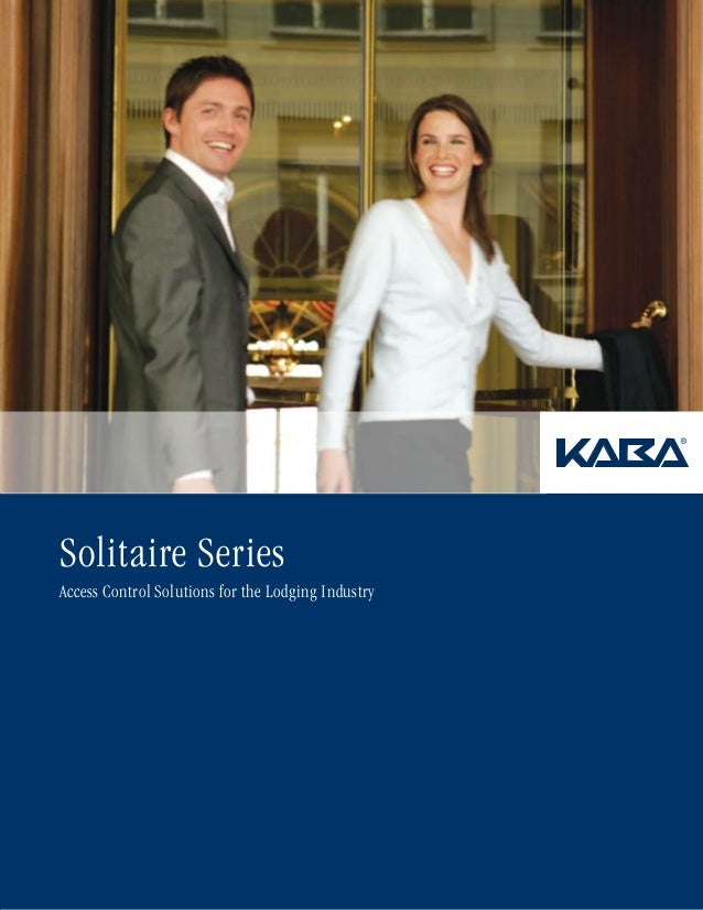 Solitaire Series Access Control Solutions for the Lodging Industry