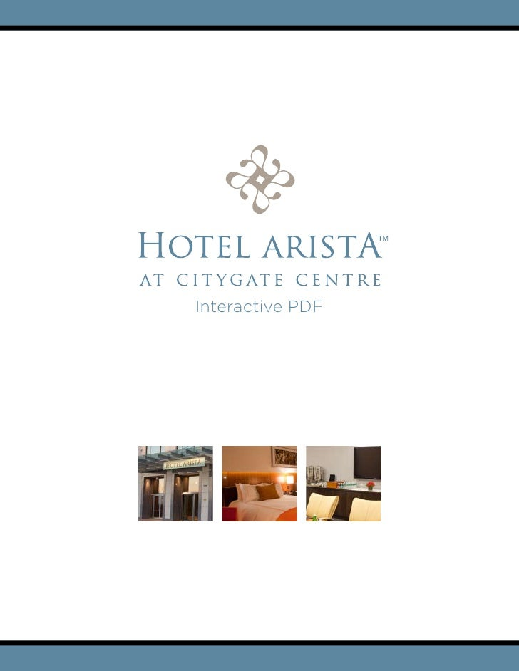 Interactive PDF     |   2139 CityGate Lane   |   Naperville, IL 60563   |   630.579.4100 | hotelarista.com