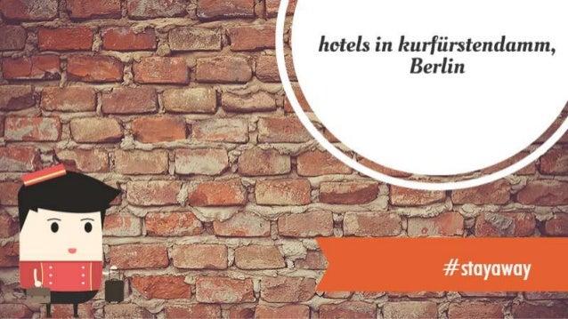 Hotel berlin kurfurstendamm