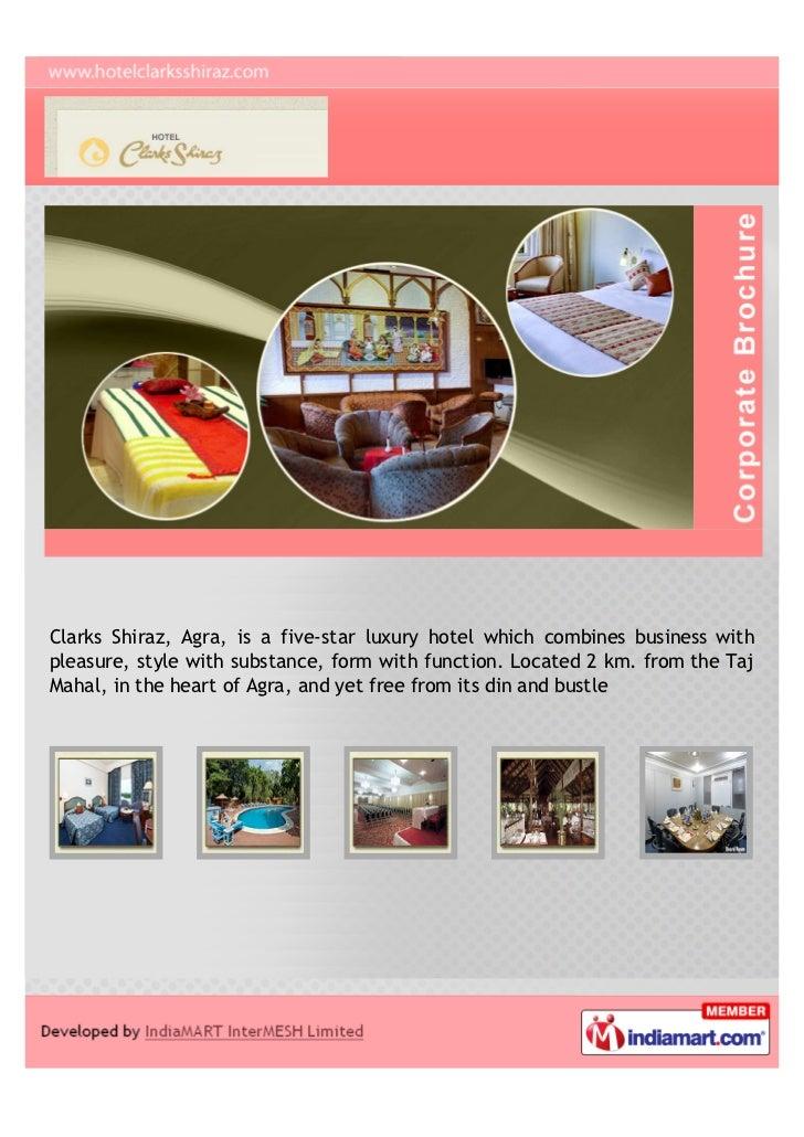 Hotel Clarks Shiraz, Agra, Five-Star Luxury Hotel