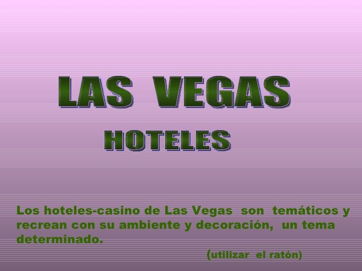 Hoteles Las Vegas