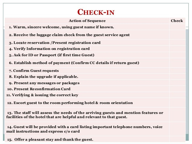 What Is Room Assignment In Hotel