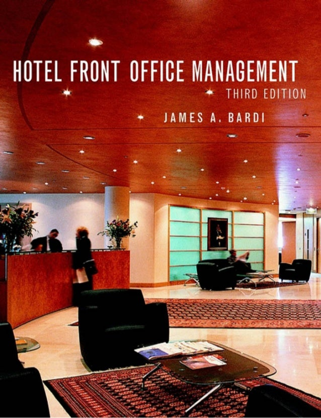 Hotel front office management 3rd edition