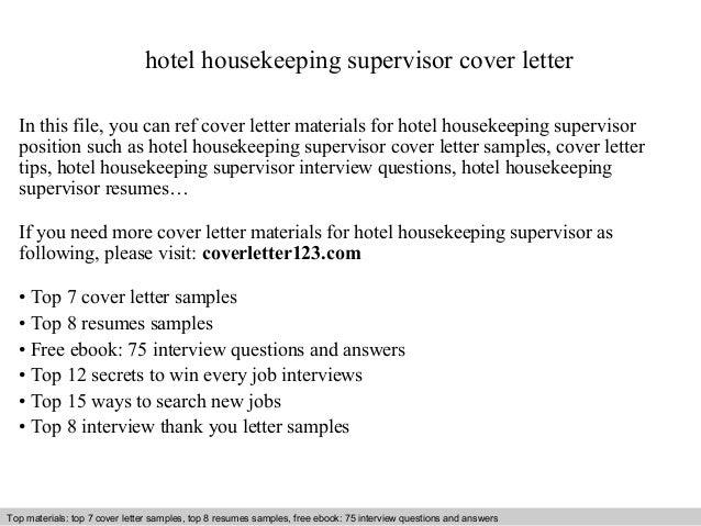 Cover letter for casino supervisor