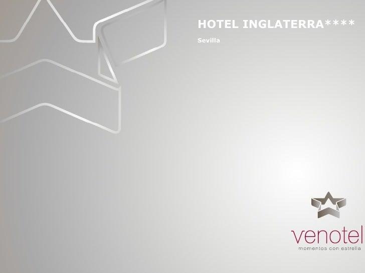 HOTEL INGLATERRA**** Sevilla