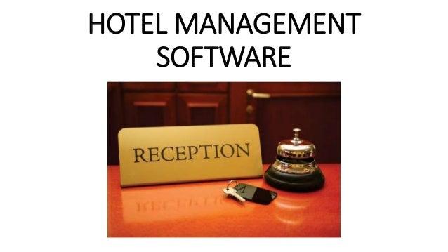 Hotel management software design for Hotel program design