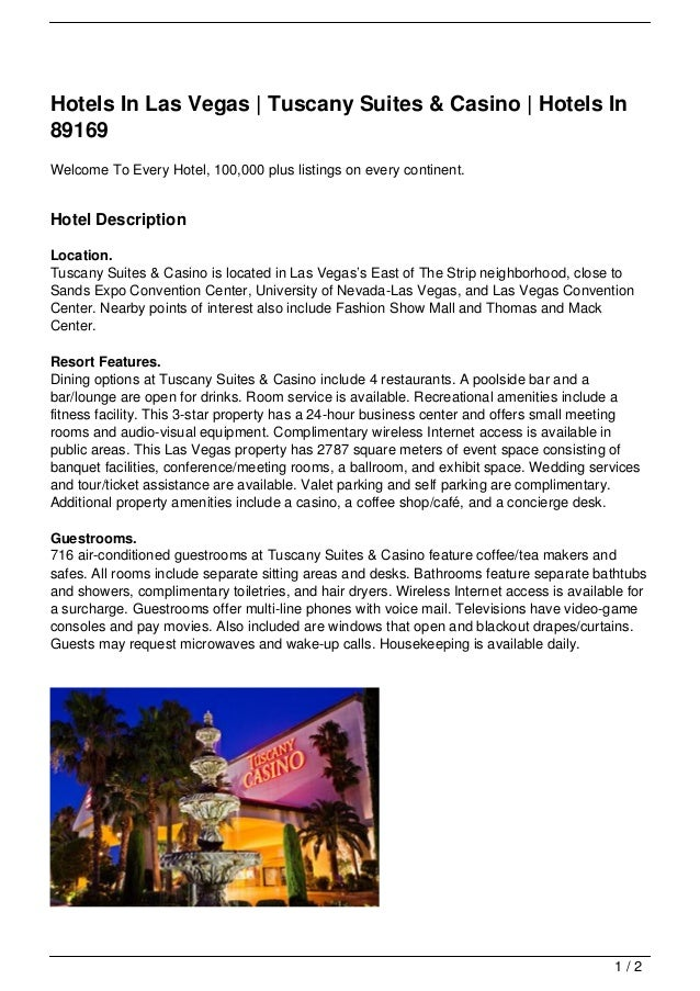 Hotels In Las Vegas | Tuscany Suites & Casino | Hotels In89169Welcome To Every Hotel, 100,000 plus listings on every conti...