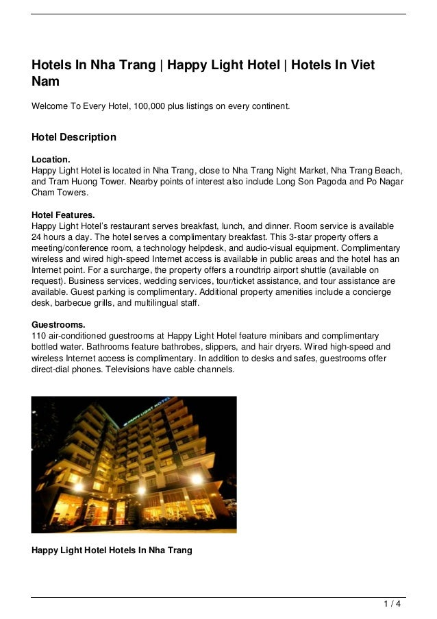 Hotels In Nha Trang | Happy Light Hotel | Hotels In Viet Nam