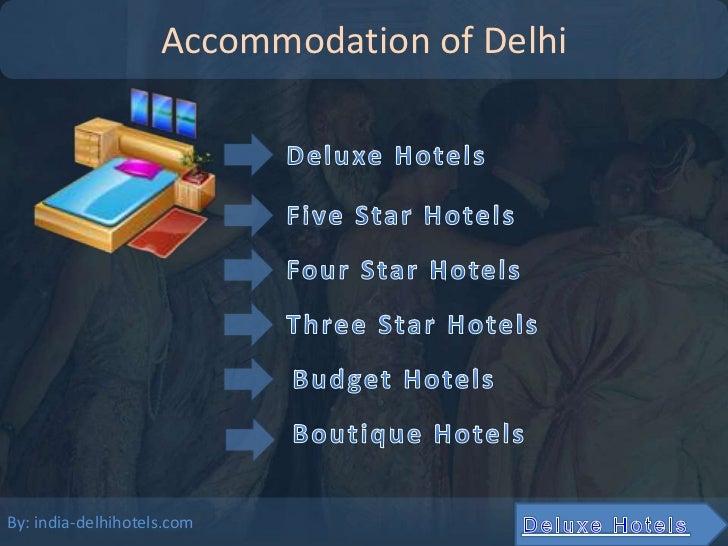 Accommodation of DelhiBy: india-delhihotels.com