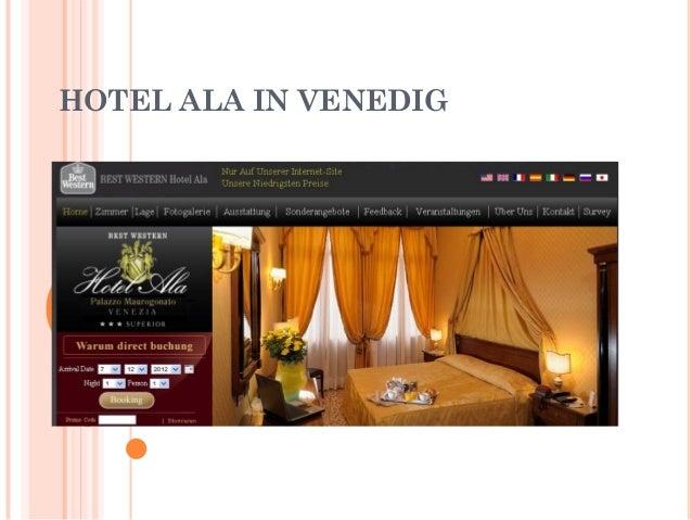HOTEL ALA IN VENEDIG