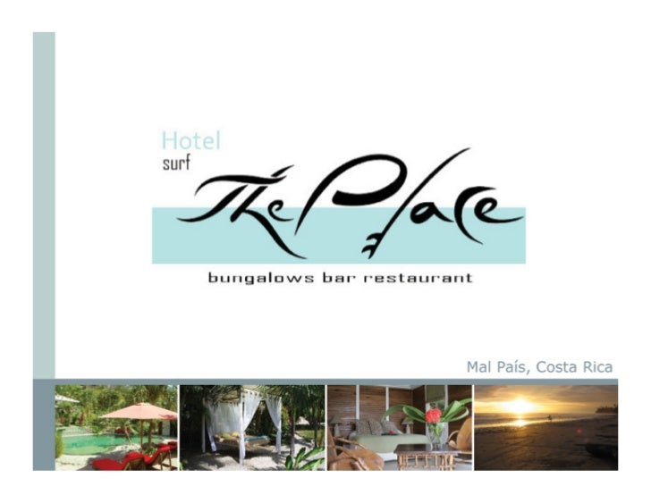 Hotel surf the Place Mal Pais Costa Rca boutique beach hotel vacation destination.