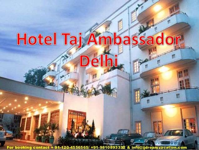 Hotel taj ambassador delhi