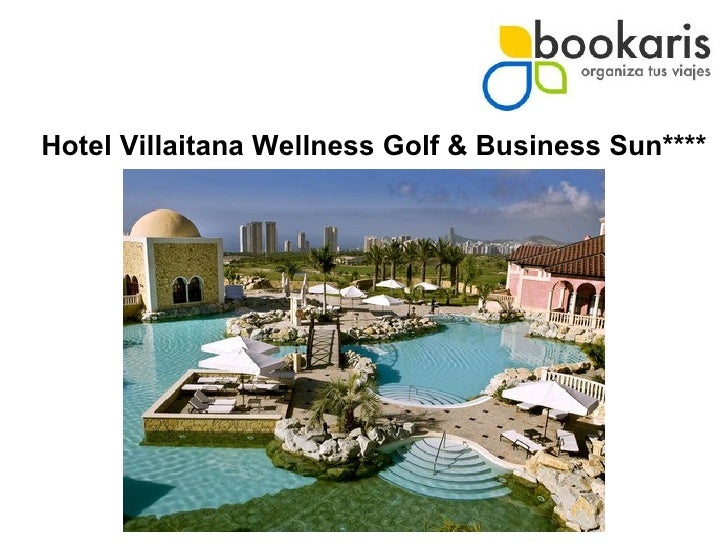 Hotel Villaitana Wellness Golf & Business Sun****