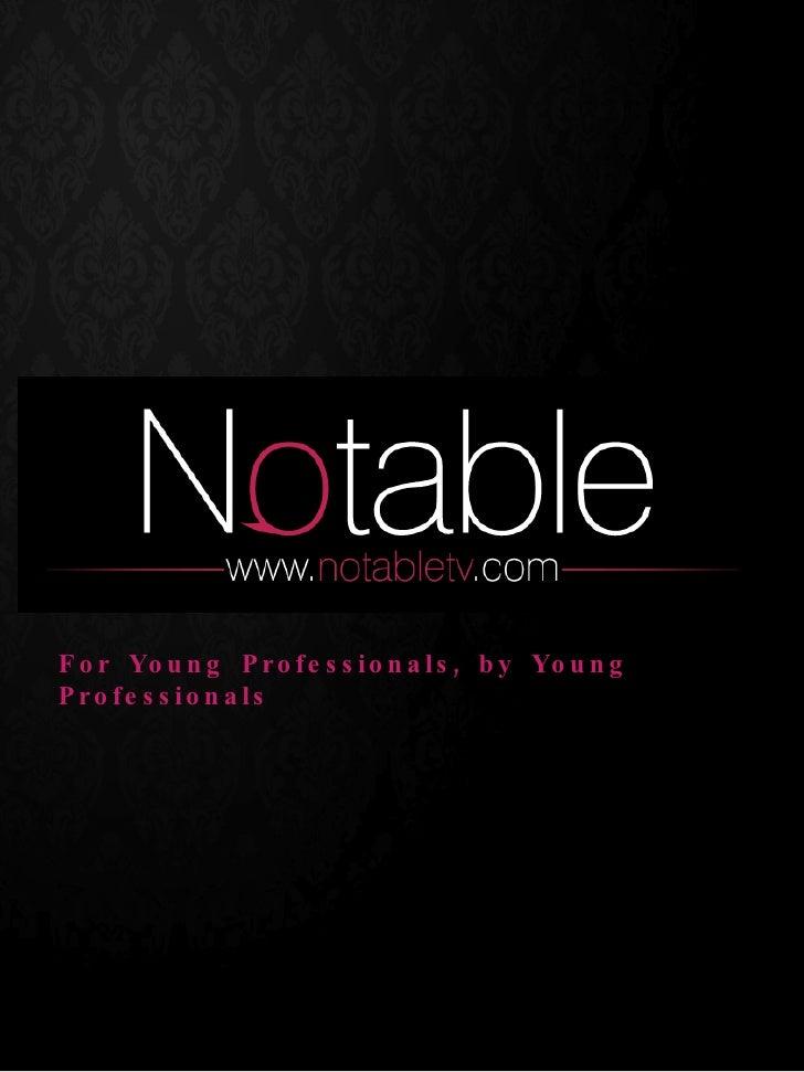 Digital Hot List - Notable.tv
