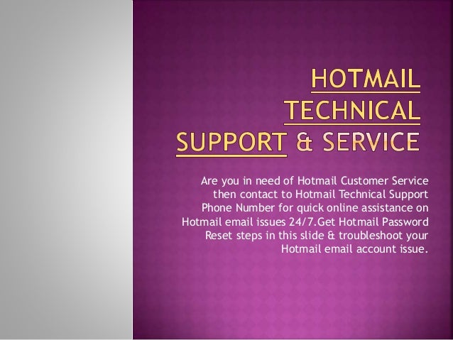 how to change phone number in hotmail