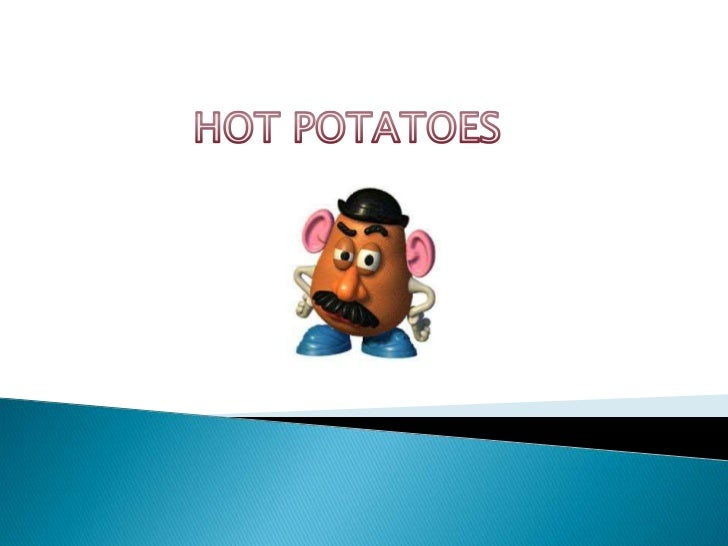    The Hot Potatoes is a software that enables you    to create interactive exercises.   These exercises include multipl...