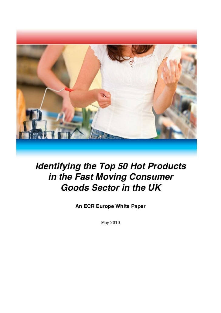 Identifying the Top 50 Hot Products           in the...