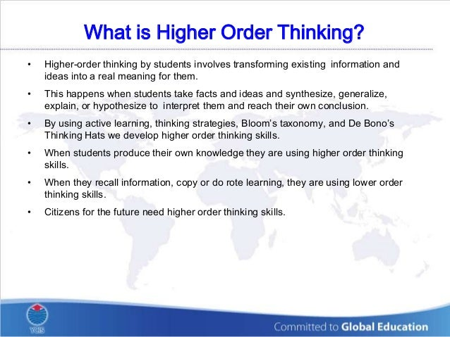 critical thinking strategies for high school students