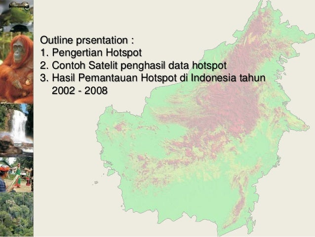 Hotspot monitoring with modis