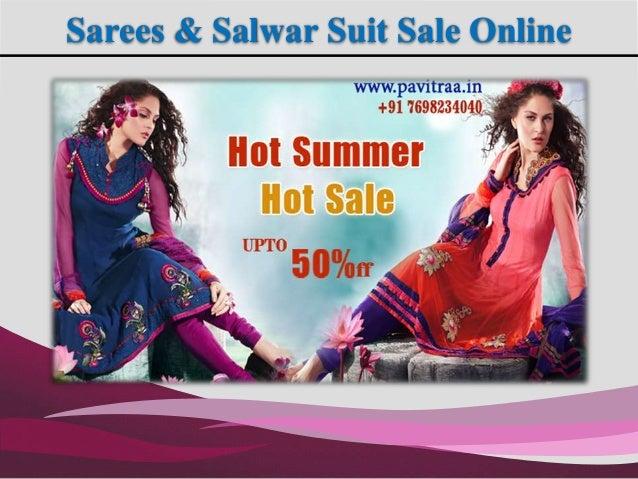 Sarees & Salwar Suit Sale Online