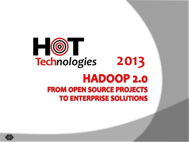 Hot Technologies of 2013: Hadoop 2.0