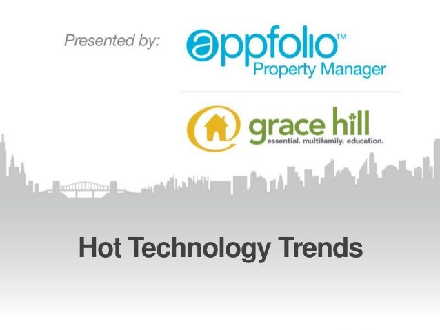 Hot Technology Trends   Webinar with Nat Kunes (Property Management Industry)