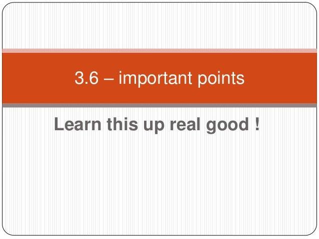 3.6 Hot tips