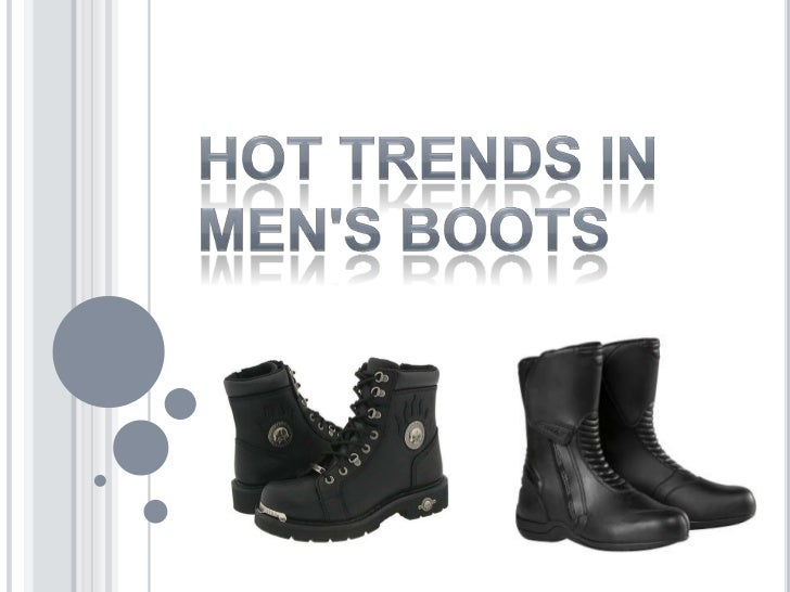 Hot Trends in Men's Boots