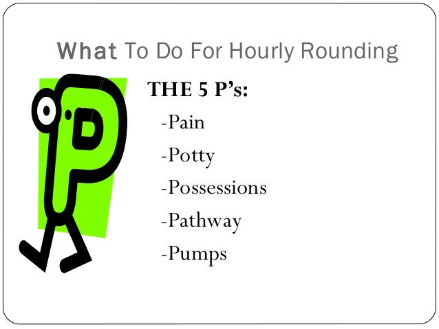 Hourly rounding and the 5 ps butik work