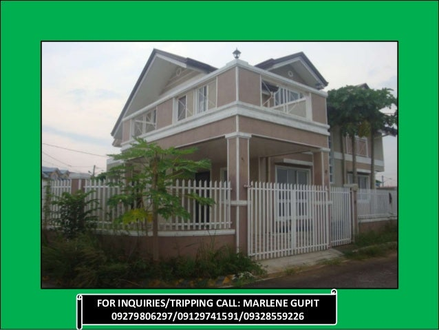 House and lot for sale jazmine model for sale with fence and kitchen extension