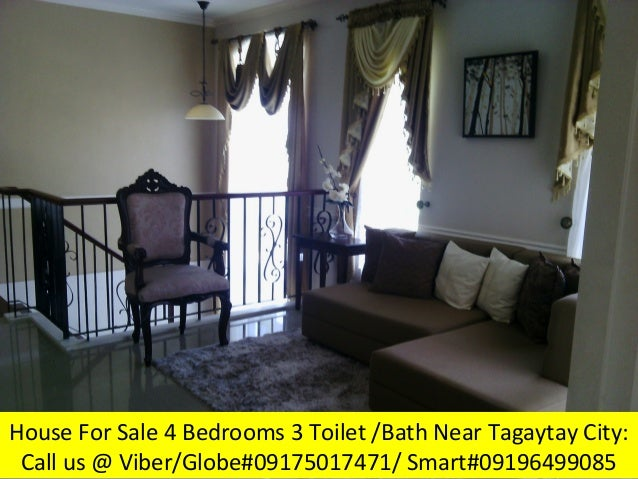 4 Bedrooms House And Lot Rush Rush For Sale Near In Tagaytay City Vac