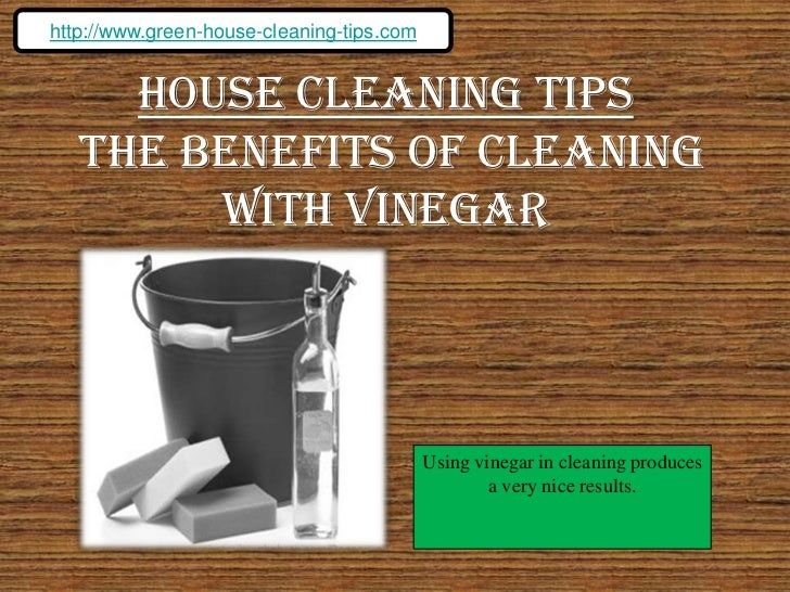 Simple House Cleaning Tips