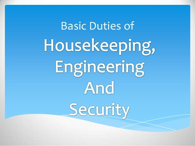 How do work demands affect the safety and health of housekeeping staff?