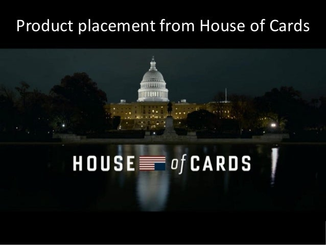 Product placement from House of Cards