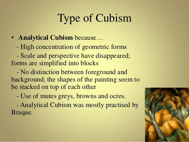 an introduction to the analysis of cubism An introduction to photography in the early 20th century cubism is an analysis of vision and of its inventing cubism, in smarthistory, august 9, 2015.