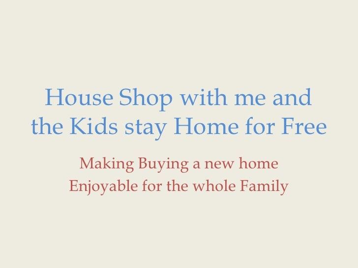 House Shop With Me And The Kids Stay Home For Free