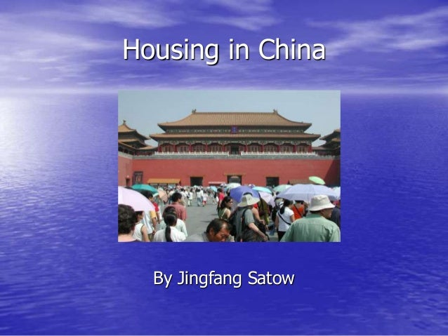 Housing in china