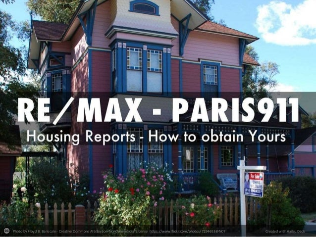 Housing market reports by a REMAX greater Los Angeles team aka Paris911